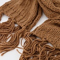 Vivian -  - Plain scarves - Brown - Camel 7913 -