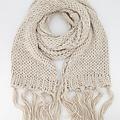 Vivian -  - Effen sjaals - Beige - 8027 -