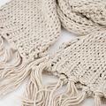 Vivian -  - Plain scarves - Beige - 8027 -