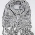 Vivian -  - Effen sjaals - Grijs - 1109 -