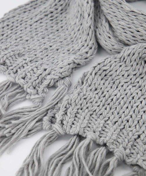 Vivian -  - Plain scarves - Grey - 1109 -