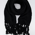 Vivian -  - Plain scarves - Black - 1200 -