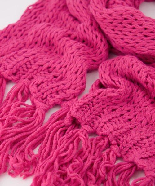Vivian -  - Plain scarves - Pink - Fuchsia 7463 -