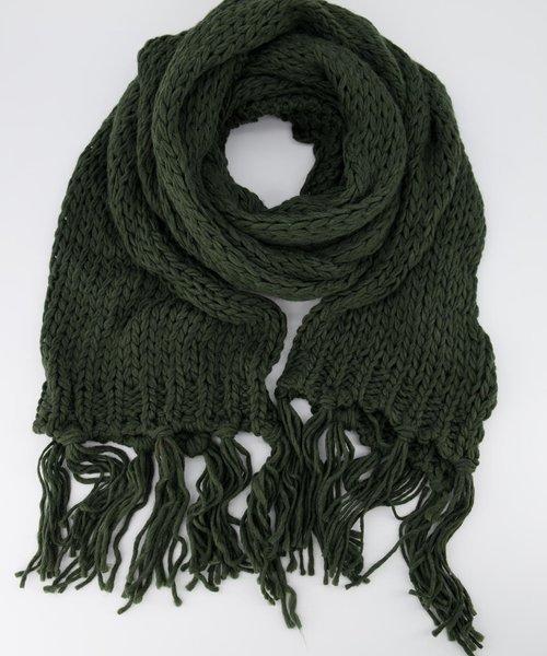 Vivian -  - Plain scarves - Green - 6894 -
