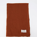 Cassy -  - Effen sjaals - Bruin - Cuoio 689 -