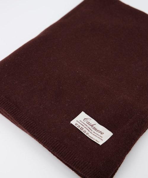 Cassy -  - Plain scarves - Brown - Donkerbruin 538 -