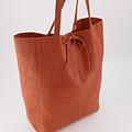 Mia - Croco - Shoulder bags - Orange - 38 -