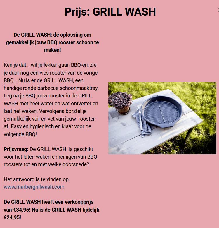 Win een GRILL WASH