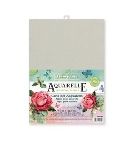 Stamperia Conf. of 5 sheets Aquarelle paper A4 format