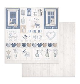 Stamperia Double Face Paper Christmas decorations
