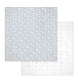 Stamperia Double Face Paper Texture snow flakes