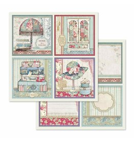 Stamperia Double Face Paper 4 Frame decorations