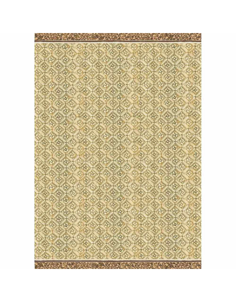 Stamperia A3 Rice paper packed Texture ocher background