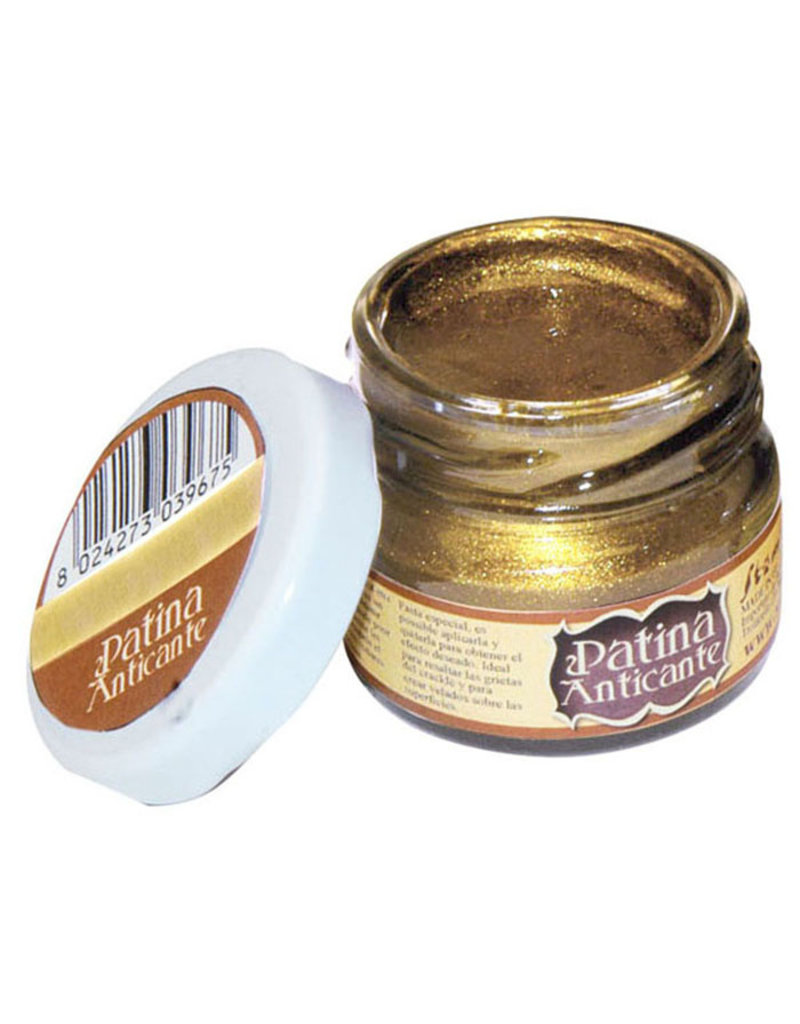Stamperia Patina Anticante 20 ml – Gold