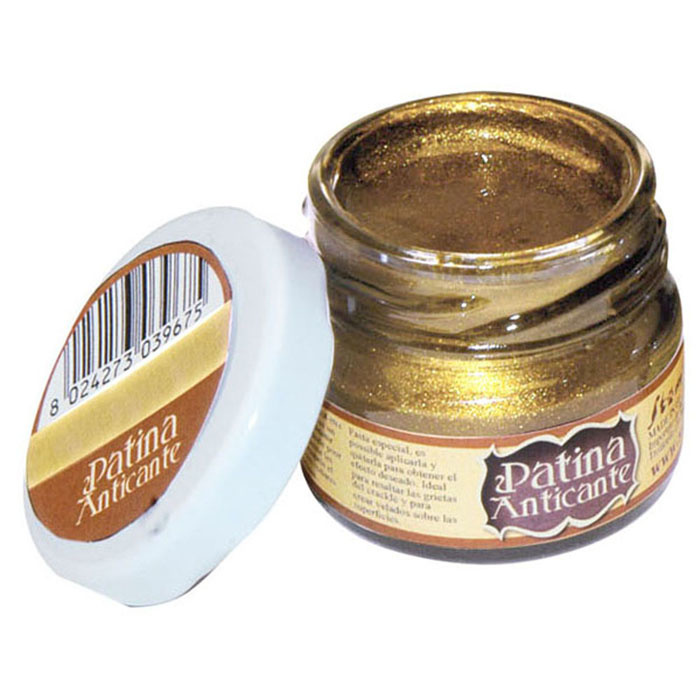 Stamperia Patina Anticante 20 ml – Gold
