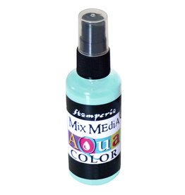 Stamperia 335 Aquacolor spray 60ml. - water green