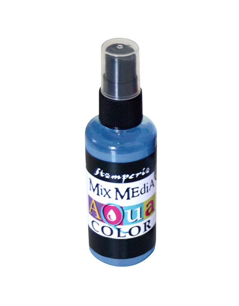 Stamperia 327 Aquacolor spray 60ml. - Carta da zucchero light blue