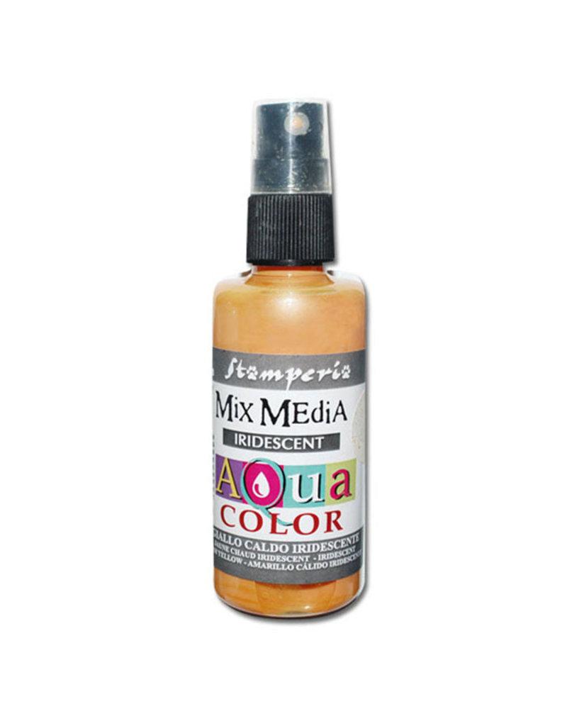 Stamperia 301 Aquacolor spray 60ml. - Warm Yellow