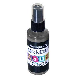 Stamperia 323 Aquacolor spray 60ml. - Graphite