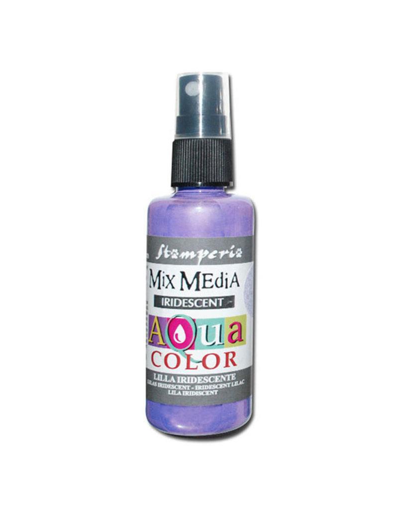 Stamperia 307 Aquacolor spray 60ml. - Iridescent lilac