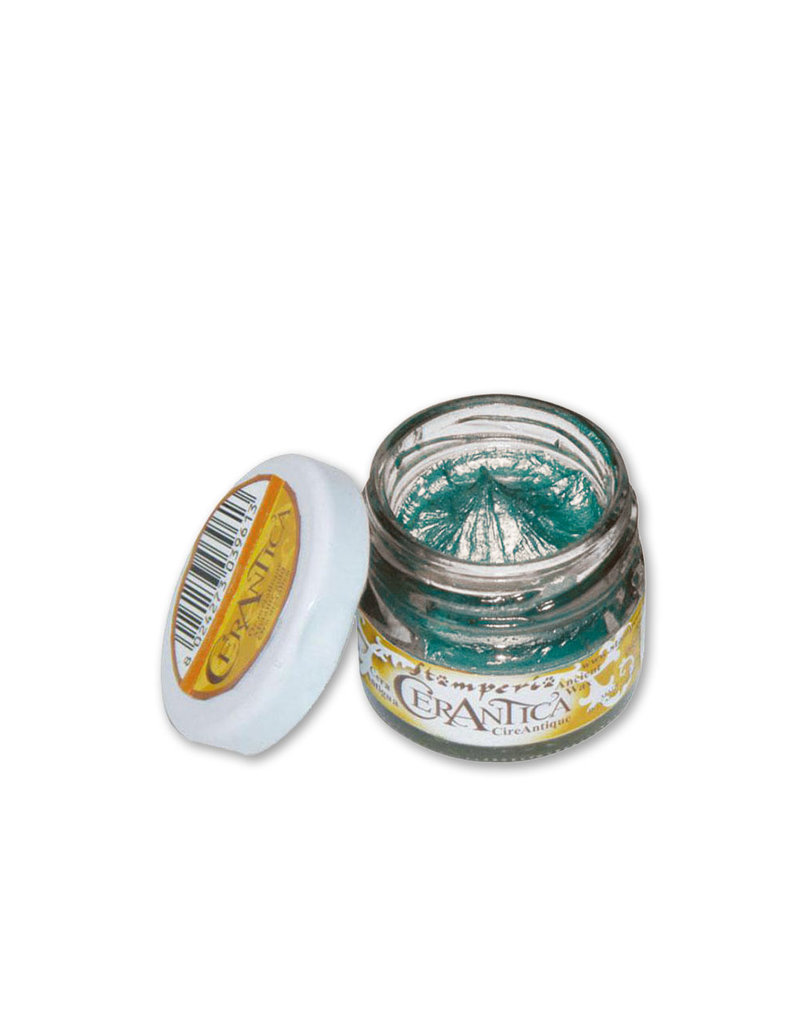Stamperia Ancient Wax Turquoise - 20 ml.