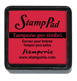 Stamperia Small pigment pad red, SIZE: Small