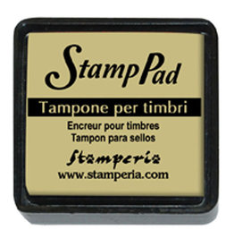 Stamperia Small pigment pad dark ivory, SIZE: Small