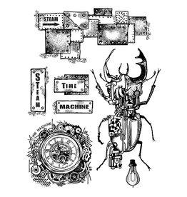 Stamperia Stamp cm. 15x20 - Time machine