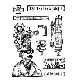 Stamperia Stamp cm. 15x20 - Capture the moment
