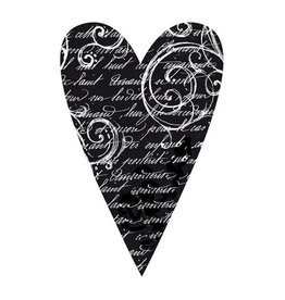Stamperia HD Natural Rubber Stamp cm. 7x11 Heart