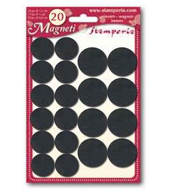 Stamperia Magnets cm.1,8/2,5 20 pcs. 2 sizes