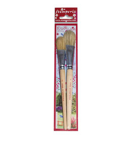 "Stamperia Set 2 brushes ""standarino"" size 4/2"