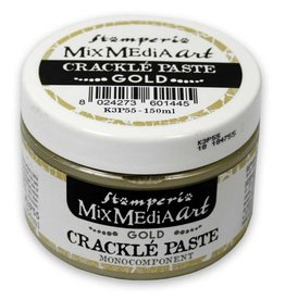 Stamperia Gold Crackle Paste monocomponent 150 ml.