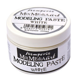 Stamperia Modeling paste 150ml – White