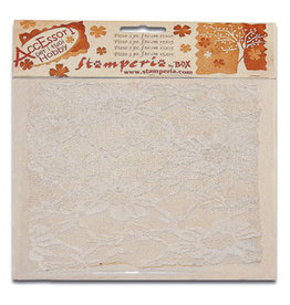 Stamperia Ass. 1 laces cm. 30x30 peony