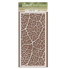 Stamperia Thick Stencil cm. 12X25 Forest leaf