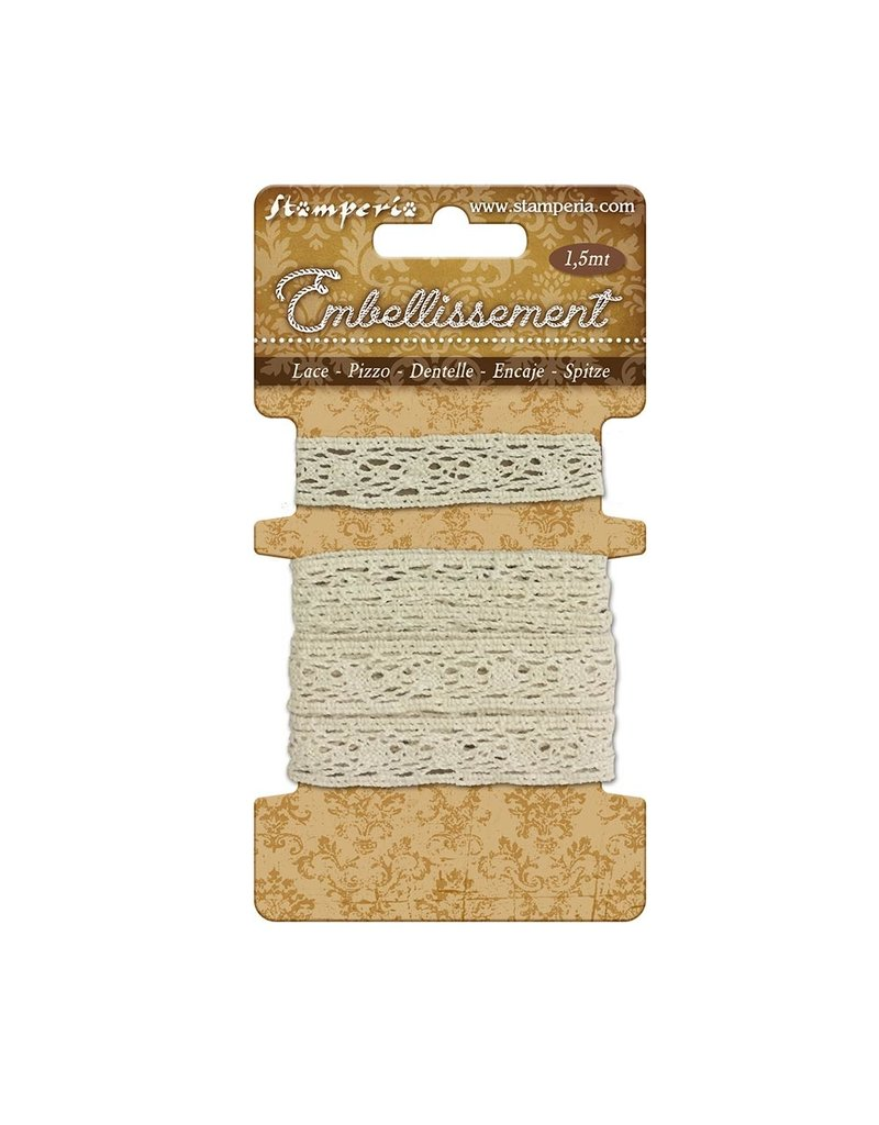 Stamperia 1 Cotton lace 1,5 m
