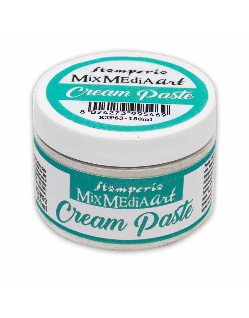 Stamperia Cream paste 150 ml.