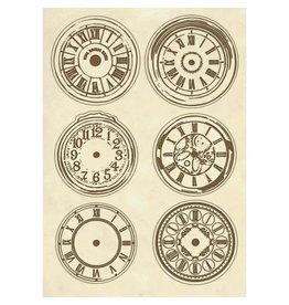 Stamperia Wooden shape A5 Clocks