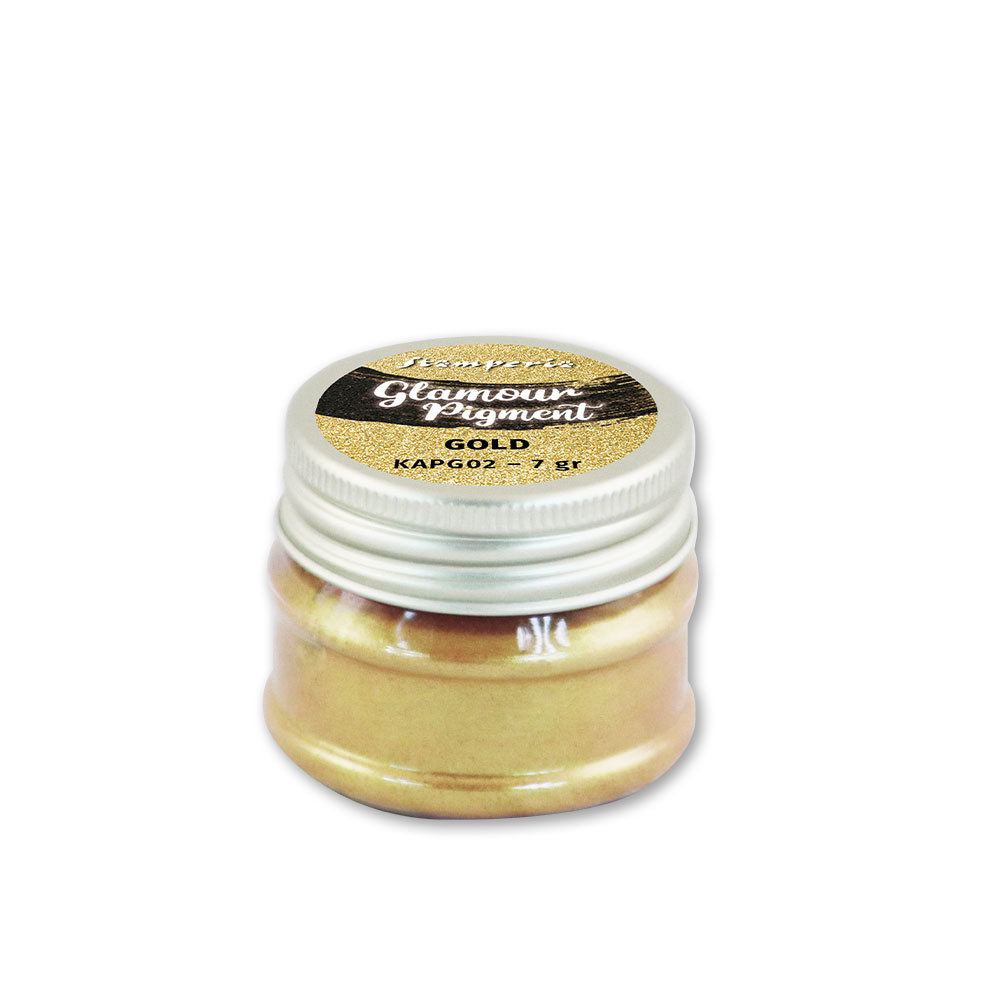 Stamperia Glamour Powder Pigment 7gr. - Gold