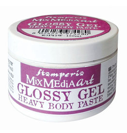 Stamperia Glossy Gel 150 ml Heavy Body Paste