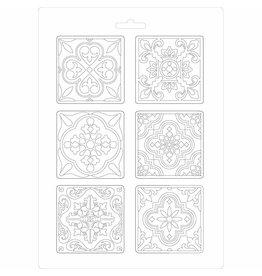 Stamperia Soft Mould A4 size Azulejos