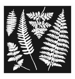 Stamperia Thick stencil cm. 18X18 Leaves