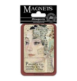Stamperia Magnet cm. 8x5,5 – Face