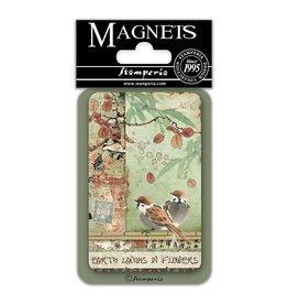 Stamperia Magnet cm. 8x5,5 – Birds