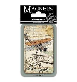 Stamperia Magnet cm. 8x5,5 - Bon Voyage