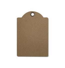 Stamperia Set of 4 avana tags cm. 10X14,5