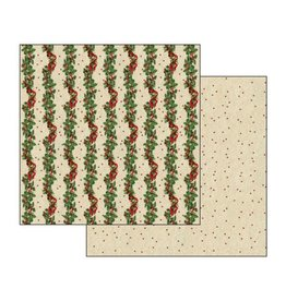 Stamperia Double Face Scrap Paper Christmas Guarland