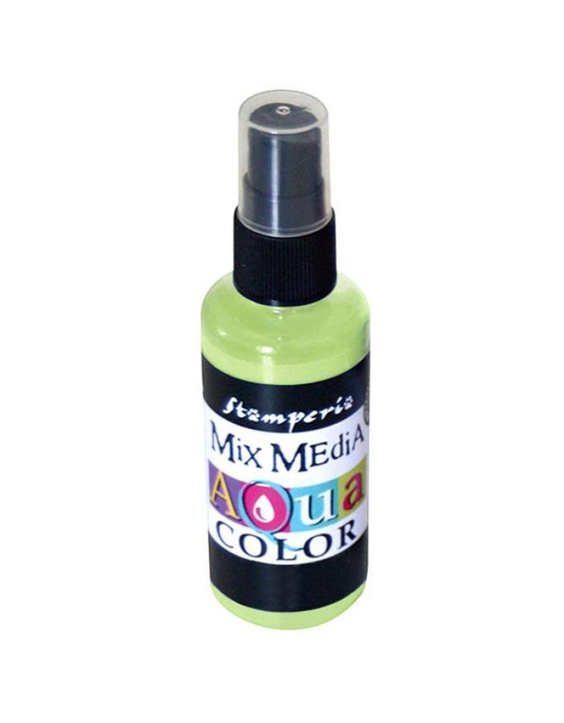 Stamperia 333 Aquacolor spray 60ml. - Lime