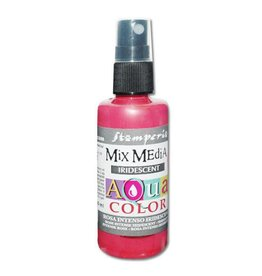 Stamperia 305 Aquacolor spray 60ml. - Iridescent intense pink